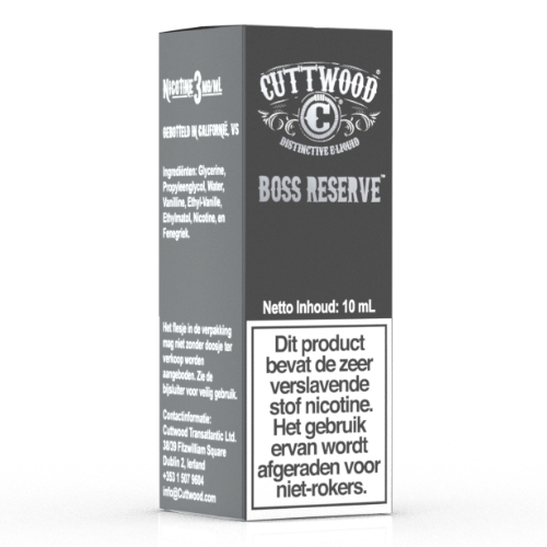 Cuttwood – Boss Reserve 10ml